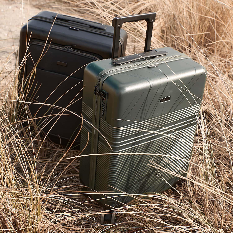 NORTVI green essential handbagage koffer