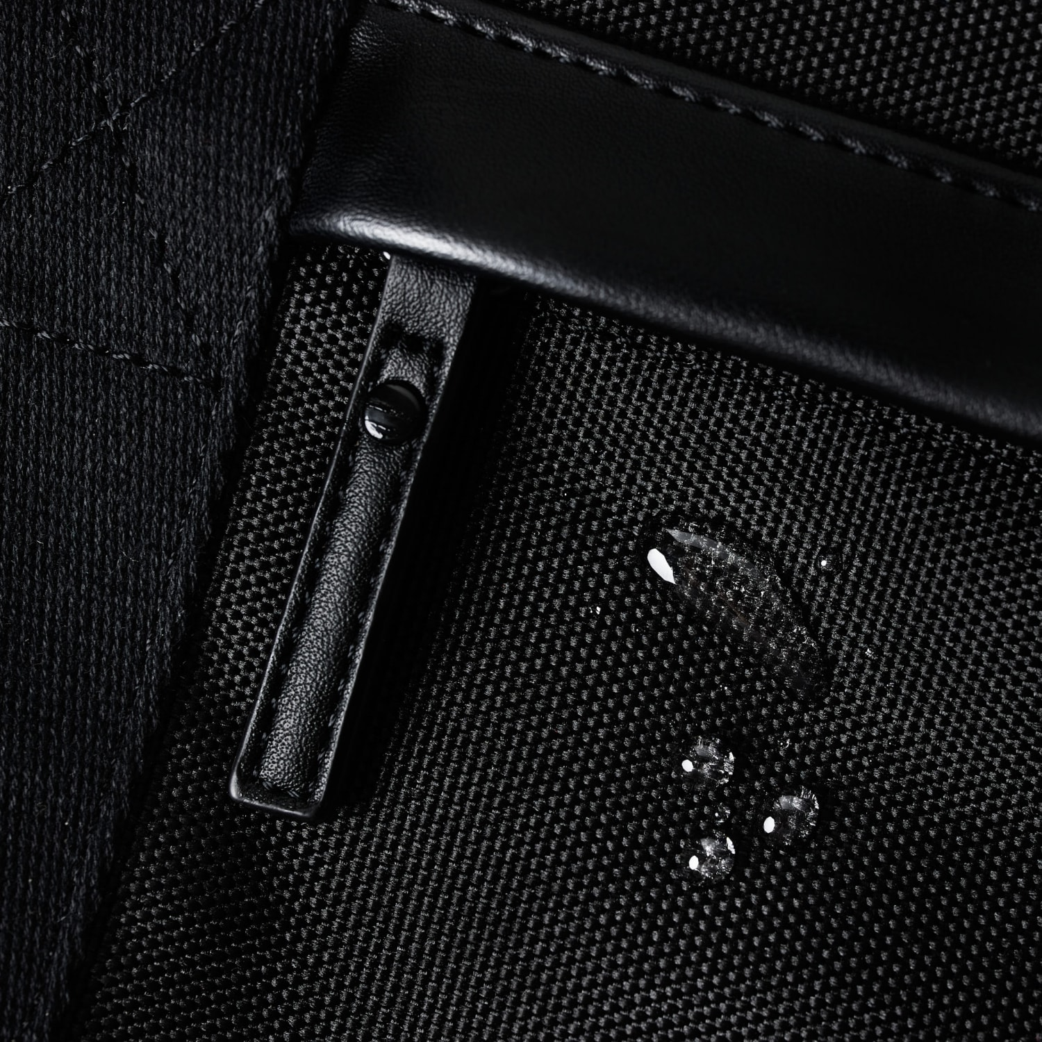 water resistant materials used for the weekend bag