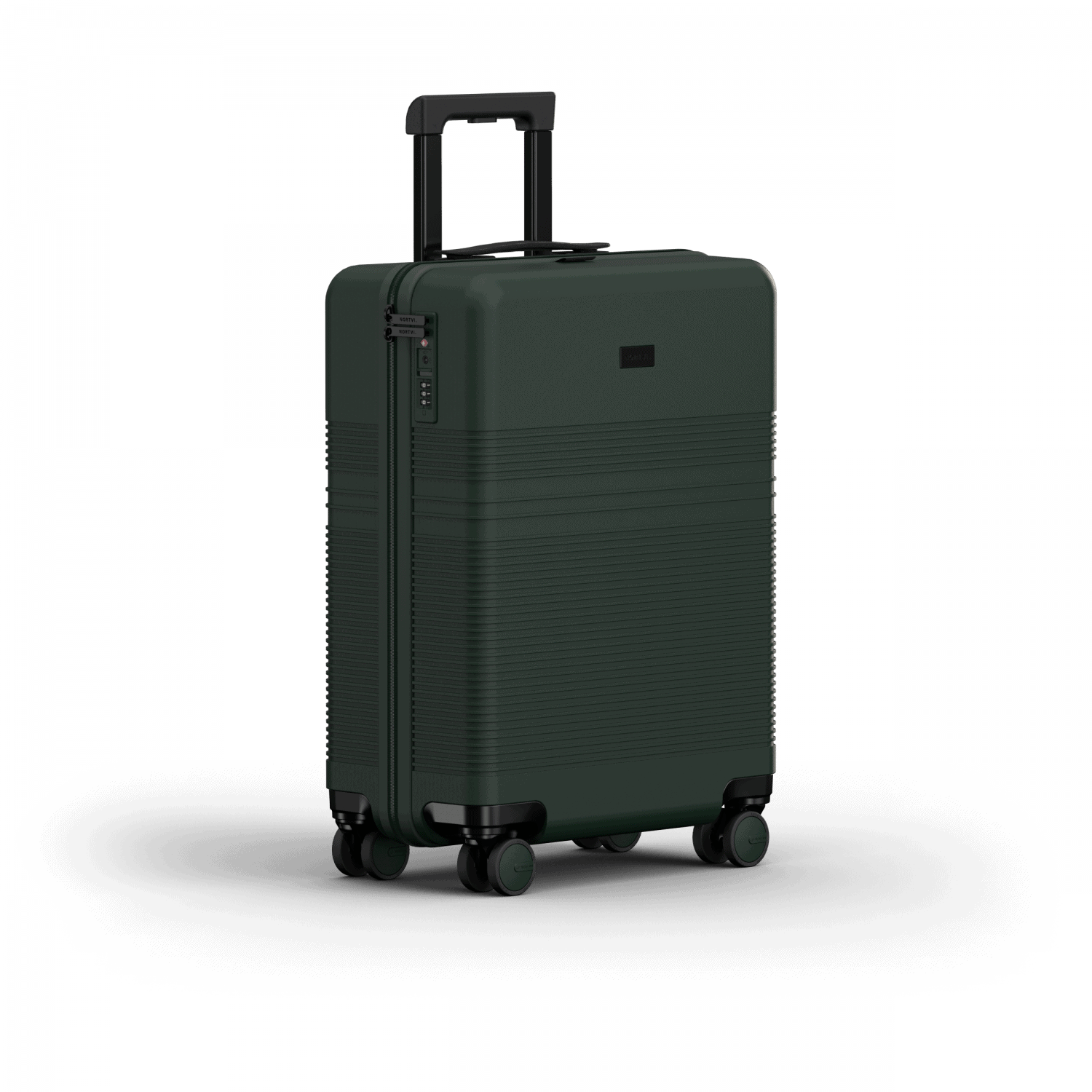 NORTVI sustainable design suitcase Rainforest Green Essential 36 L gemaakt van duurzaam materiaal.