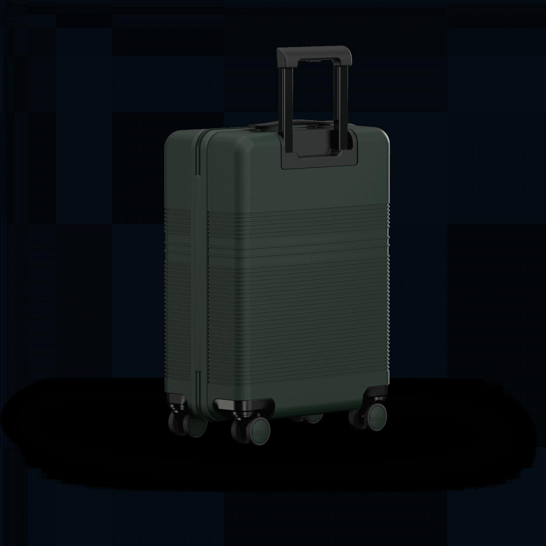 NORTVI sustainable design suitcase Rainforest Green Essential 36 L gemaakt van duurzaam materiaal.