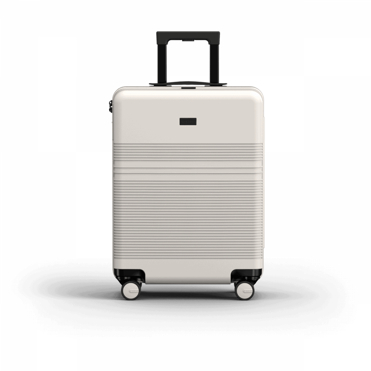 NORTVI sustainable design suitcase Sand White Essential 36 L gemaakt van duurzaam materiaal.