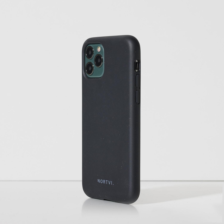 NORTVI black phone case for iPhone 11 Pro case