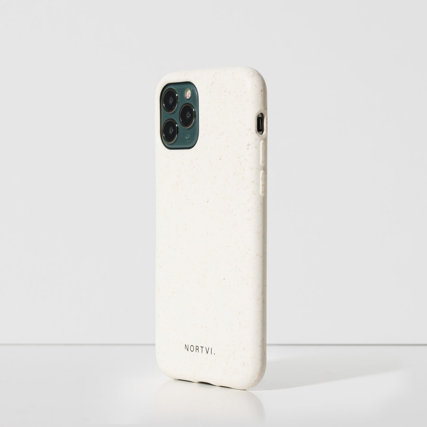 NORTVI white phone case for iPhone 11 Pro case