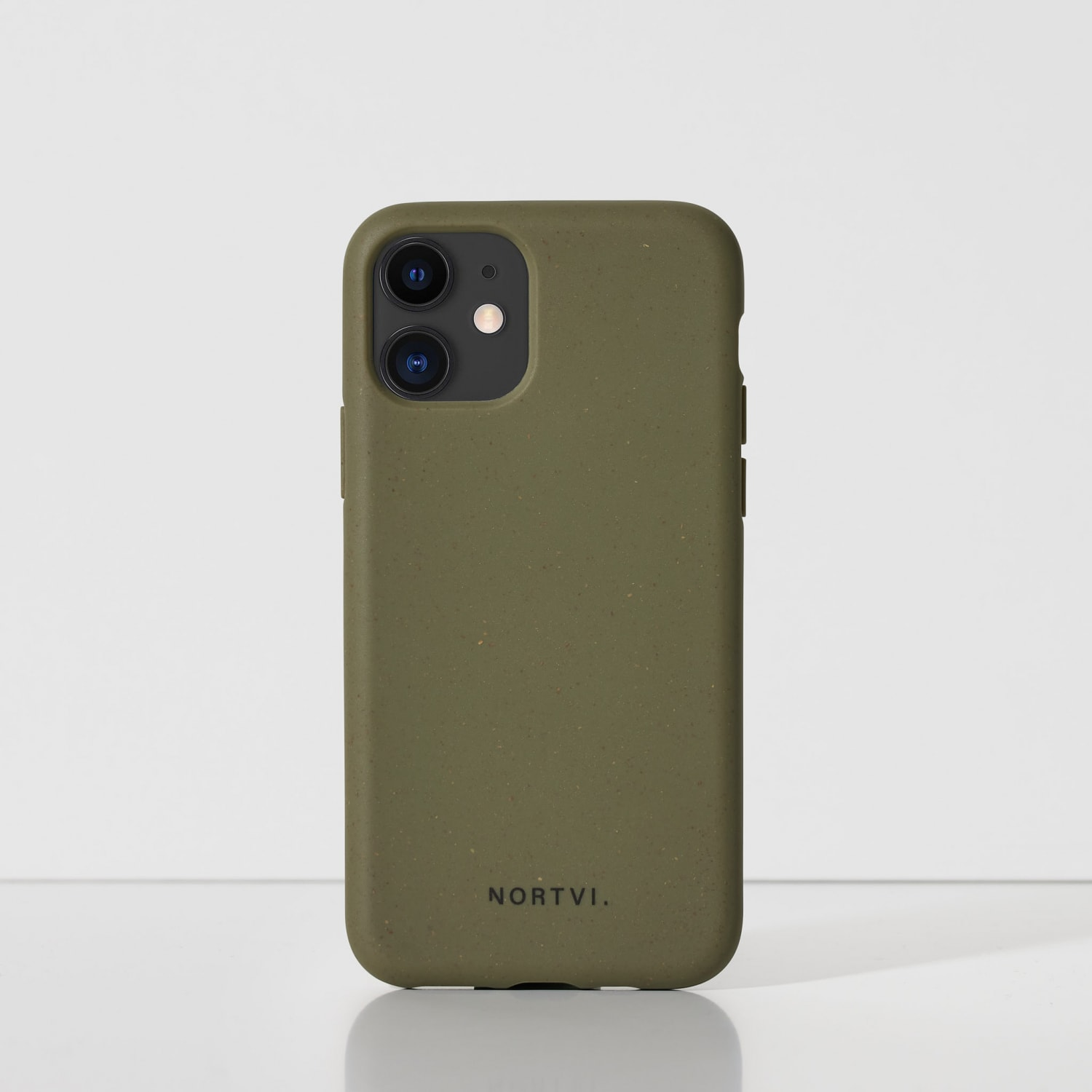 NORTVI green phone case for iPhone 11 Pro case