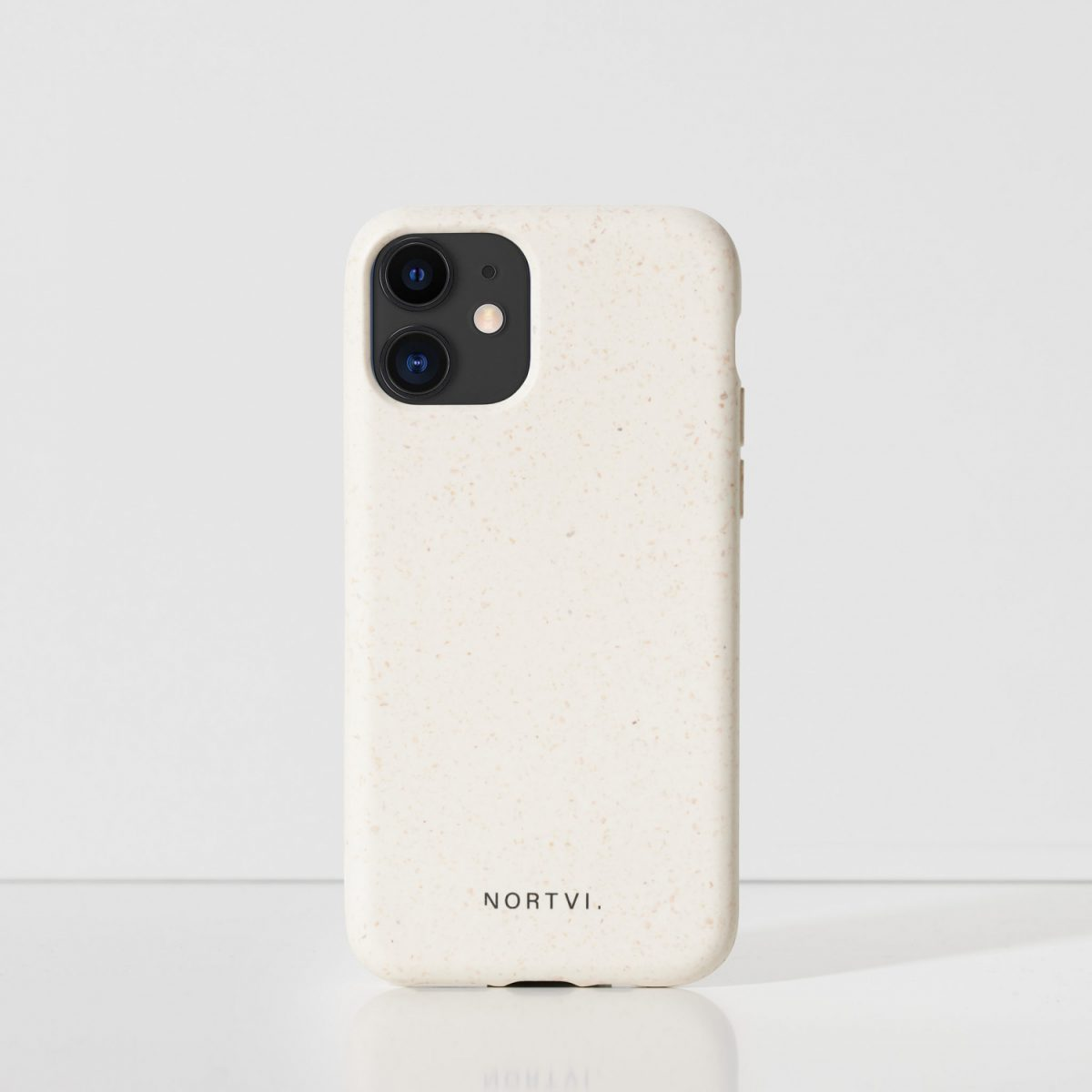 NORTVI white phone case for iPhone 11 case