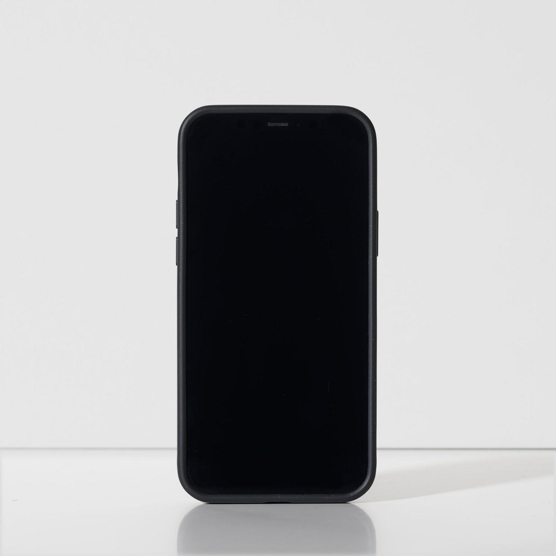Iphone 12 black zwart hoes case