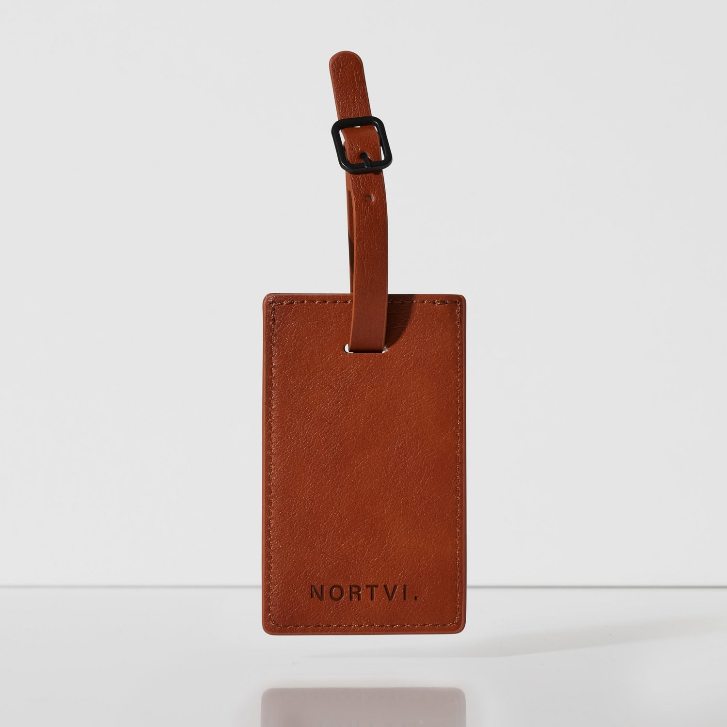 Classic Brown Luggage Tag