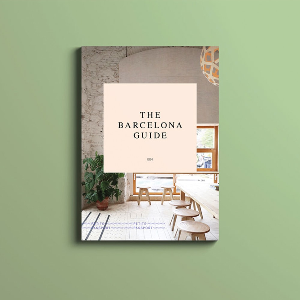 Petite Passport travel Guide Barcelona reisgids
