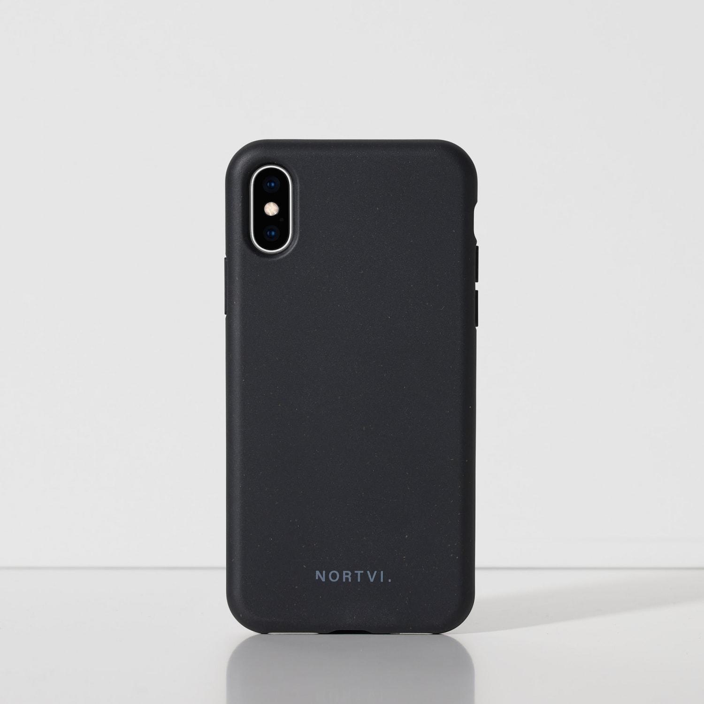 Iphone XS black zwart hoes case