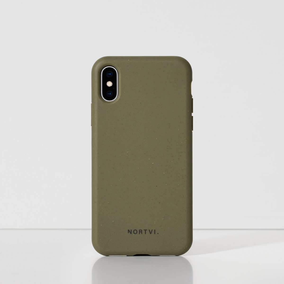 NORTVI green phone case for iPhone XS case