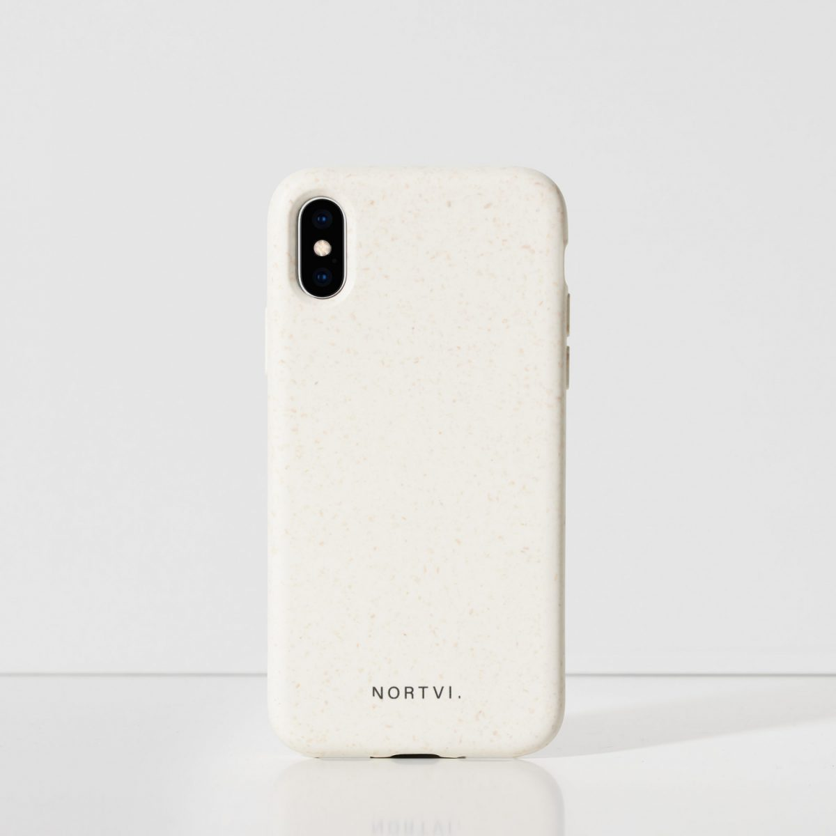 Iphone XS white wit hoes case