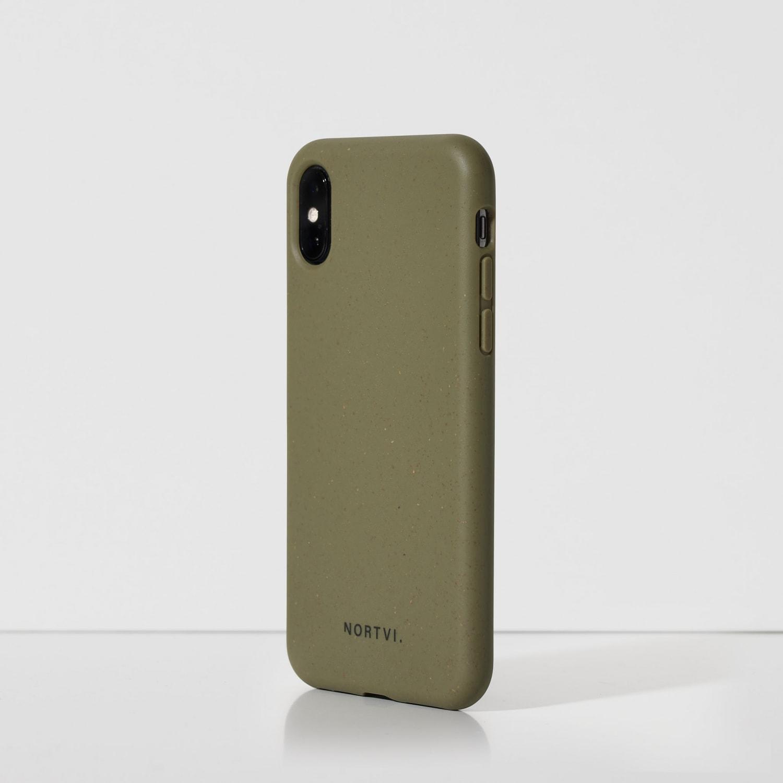Iphone XR green groen hoes case