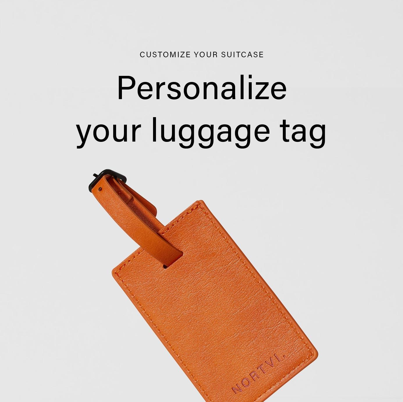 NORTVI luggage tag