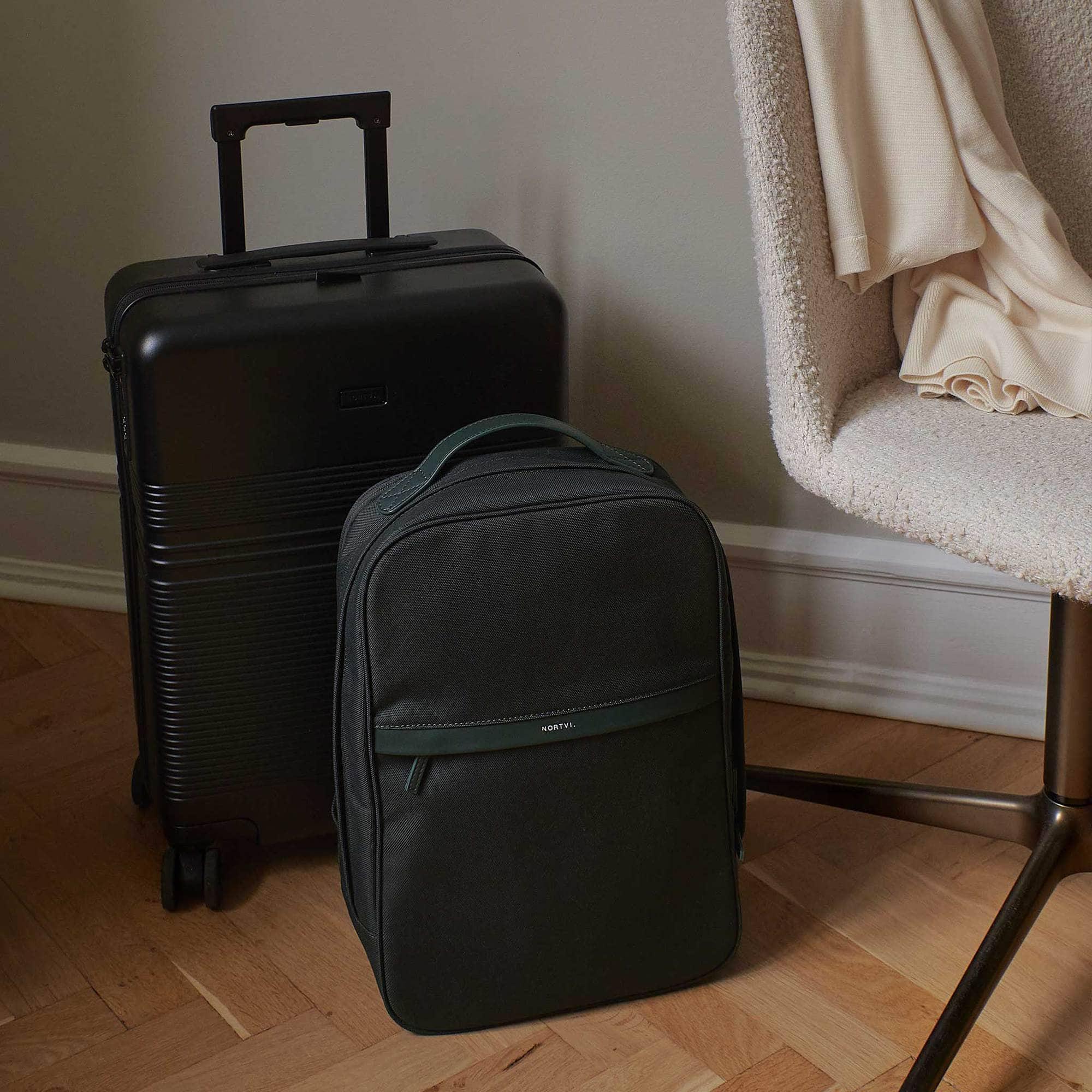 Backpack rugzak groen NORTVI